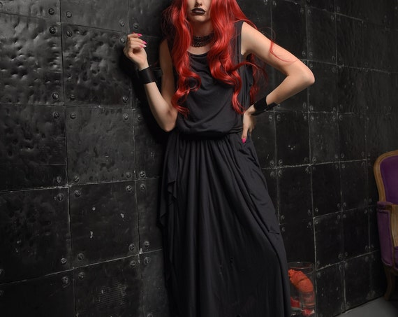 HALLOWEEN LOOK Womens Witch Costume / Adult Witch Costume / Witch Dress Women / Halloween Witch Costume / Еnchantress