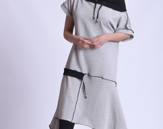 NEW Off The Shoulder Collared Tunic by METAMORPHOZA