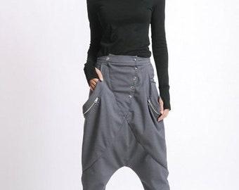 Linen Harem PantsLoose PantsLinen maxi PantsCasual Maxi TrousersHandmade PantsYoga pantsSummer pants Comfortable Linen PantsP0237