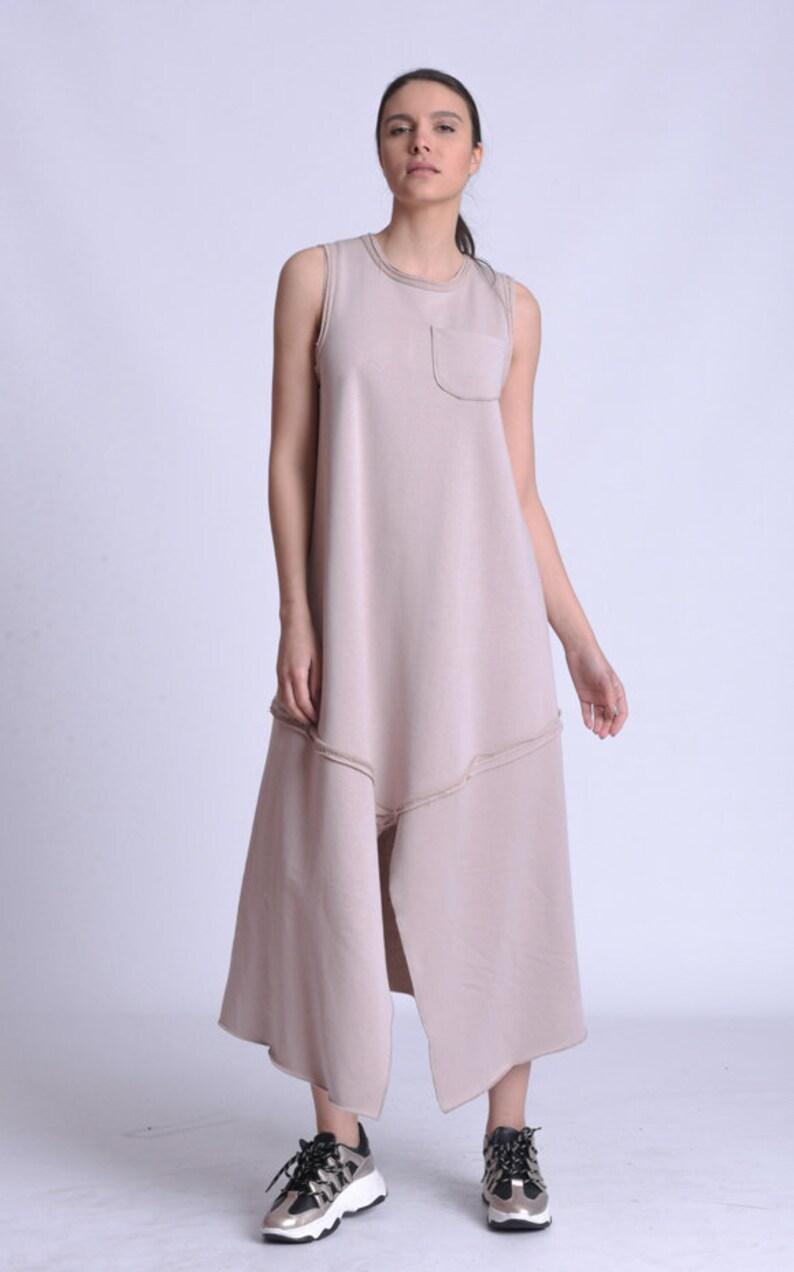 NEW A Line Sleeveless Casual Maxi Dress by METAMORPHOZA image 0