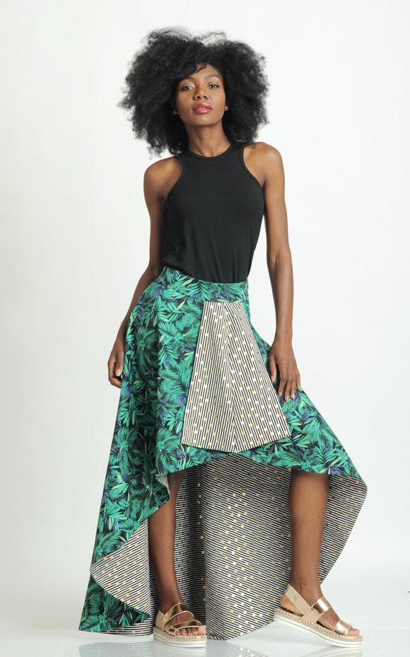 cf38e30c8f LIMITED EDITION Extravagant Long Skirt/Asymmetric Floral Skirt ...