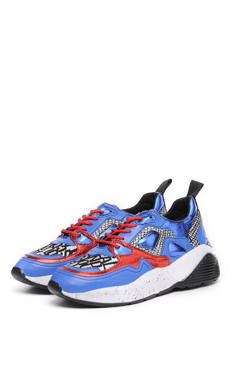 Extravagant Blue Shoes/Sport Casual Sneakers/Comfortable Gym image 0