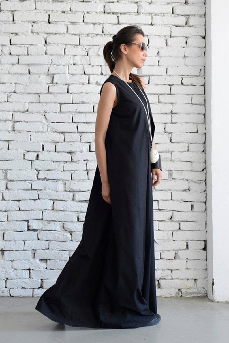 253a6238e262 SALE Plus Size Maxi Dress/Loose Kaftan/Casual Sleeveless | Etsy