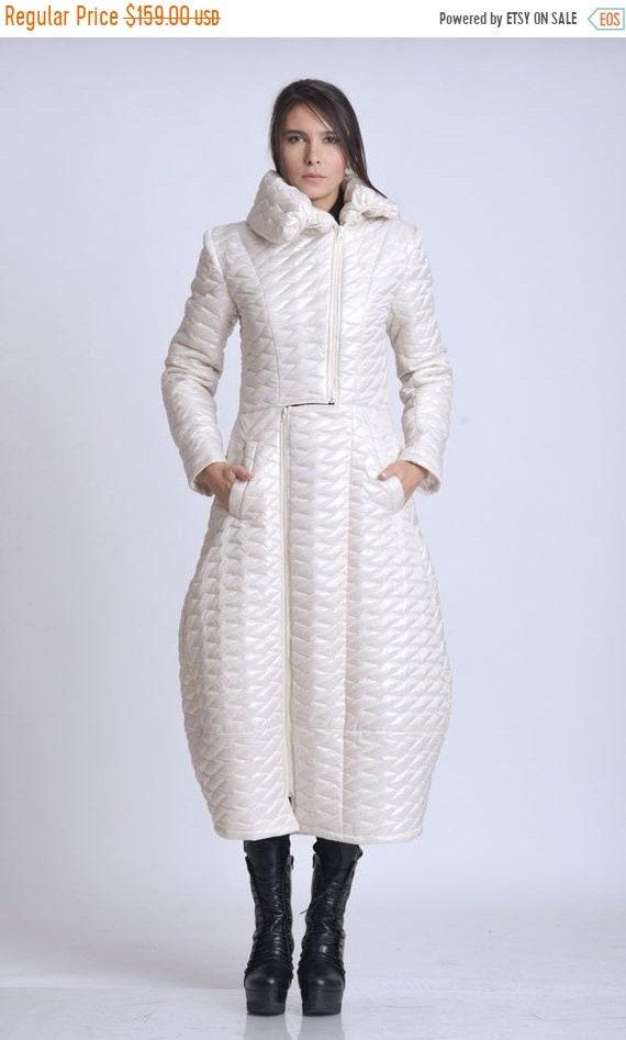 10% OFF NEW Extravagant Long Maxi Coat/Plus Size Warm Coat/Loose Everyday Coat/Oversize Long Jacket/Ivory Fall Coat/Plus Size Maxi Coat with