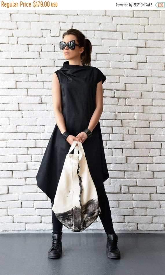 15% OFF White Maxi Bag/Genuine Leather Handbag/Extravagant Black and White Backpack/Long Tote Bag/White Leather Purse/White Everyday Shoulde