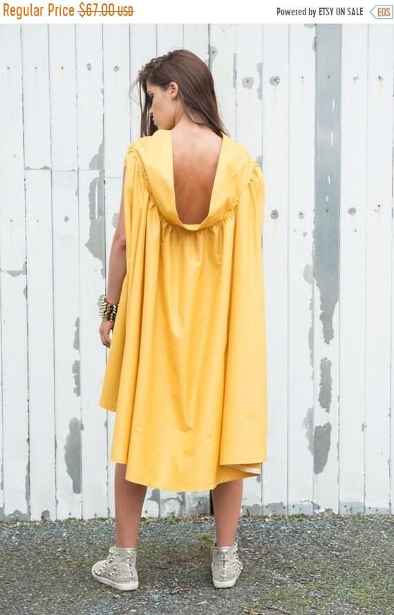 20% OFF Yellow Maxi Dress/Asymmetric Summer Dress/Mustard Casual Dress/Long Tunic Dress/Maxi Dress/Oversize Tunic Top/Loose Short Dress/Casu