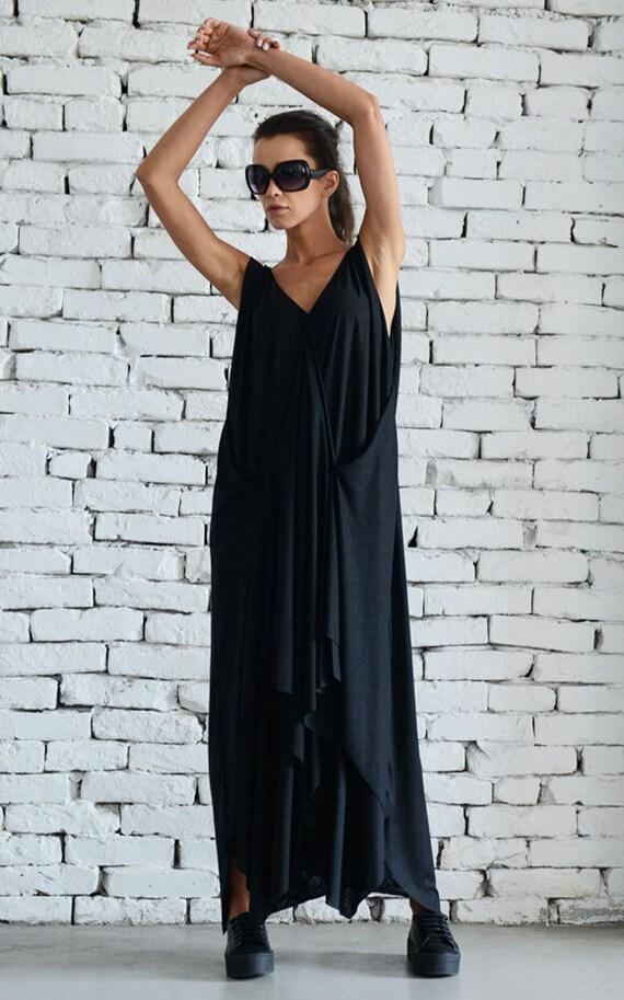 Plus Size Boho Dress / Oversize Dress / Metamorphoza
