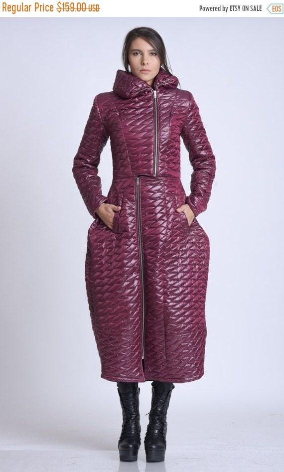 10% OFF NEW Long Loose Warm Coat/Avant Garde Oversize Jacket/Exclusive Coat/Casual Coat/Marsala Plus Size Coat/Oversize Loose Jacket/Warm Co