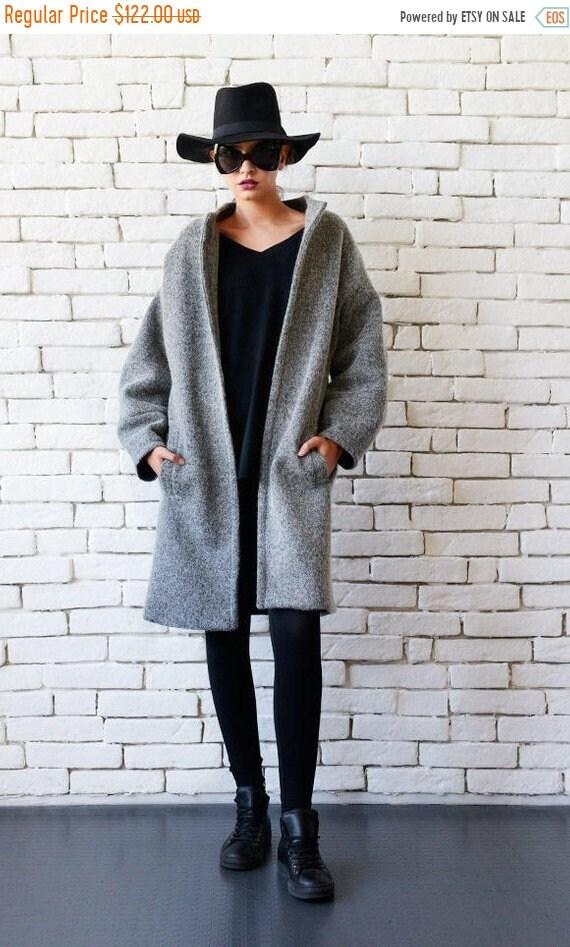 cbc43ef30 Grey Wool Winter Coat - Tradingbasis
