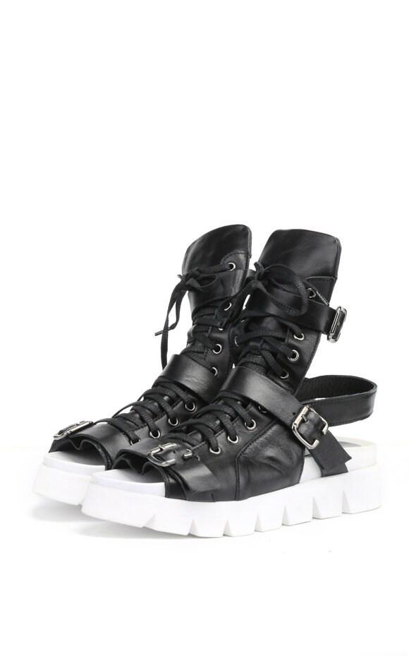 Black Leather Flats   Black leather flats, Leather flats