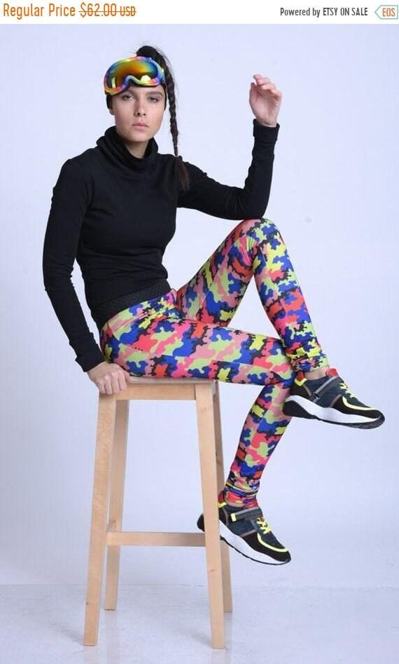 15% OFF META SPORT Elastic Waist Colorful Jogger Pants/Comfortable Yoga Leggings/Every Day Activities Leggings/Printed Leggings/Multi Color