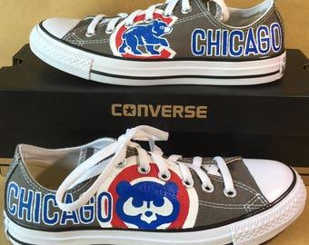 Cubs converse   Etsy
