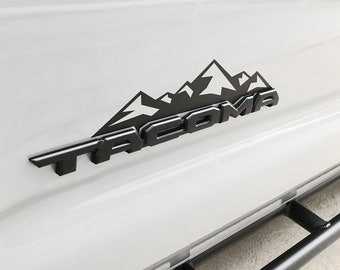 Toyota Tacoma Emblem - Mountain Decal