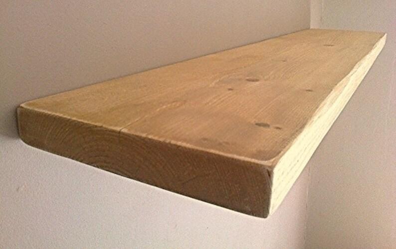 Genoeg Zwevende planken houten planken muur plank noodlijdende | Etsy LV53