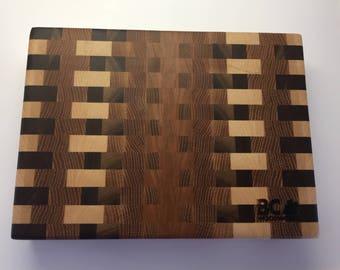 Amazing End Grain Wood Cutting Board
