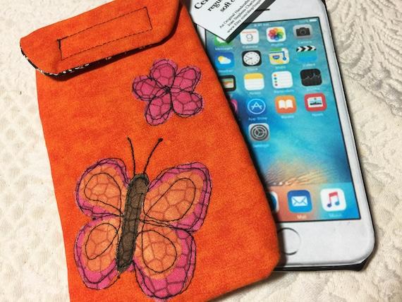 d5cc8c4007 Medium size Smart phone case iPhone 6 7 8 10 case Quilted