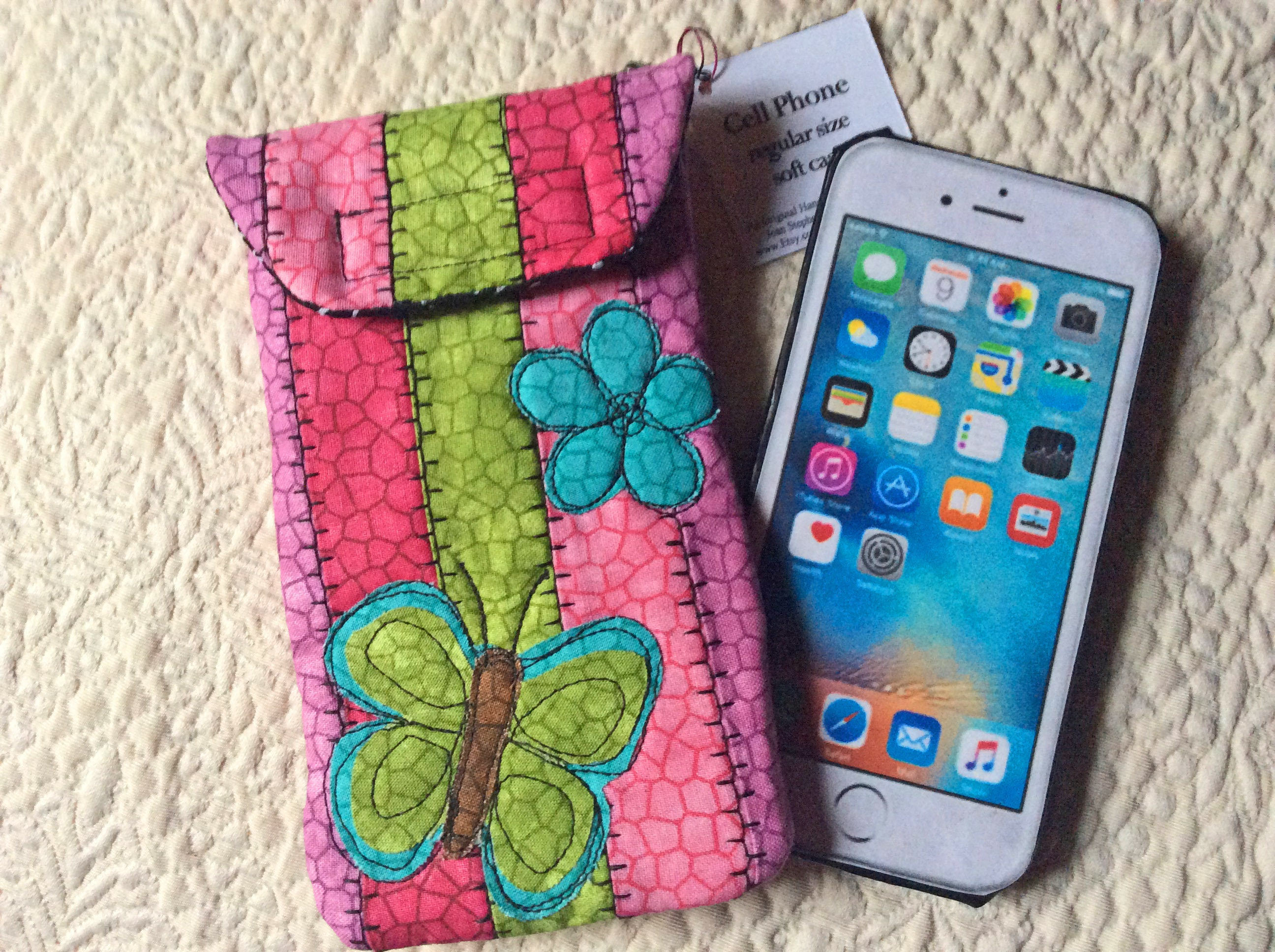 4996718bd2 Medium Size Phone case Quilted case iphone Smart phone