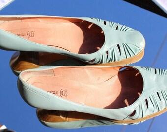 Pierre Cardin Schuhe in beige (mit einem leichten hellgrün
