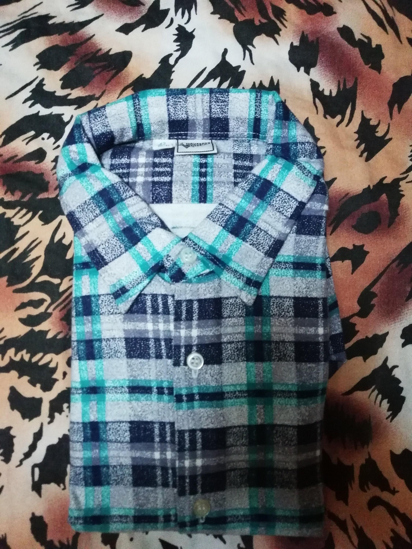 42 taille Unique EU / Vintage Unique taille nouvelle chemise bleu pour homme 5b1b8c