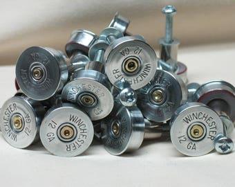 Merveilleux 3 Shotgun Shell Cabinet Door Knobs, Cupboard Door Knobs, Home Kitchen Gun  Room Decor
