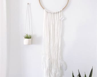 Large Feather Dreamcatcher