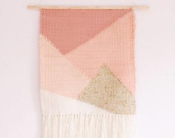 Geometric Ombre Weaving