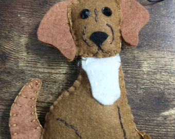 Benny Pup Ornament