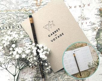 Carnet de voyage - Journal de voyage