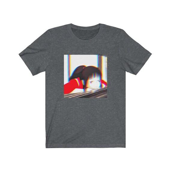 Chihiro Vaporwave T Shirt Spirited Away T Shirt Ghibli Etsy