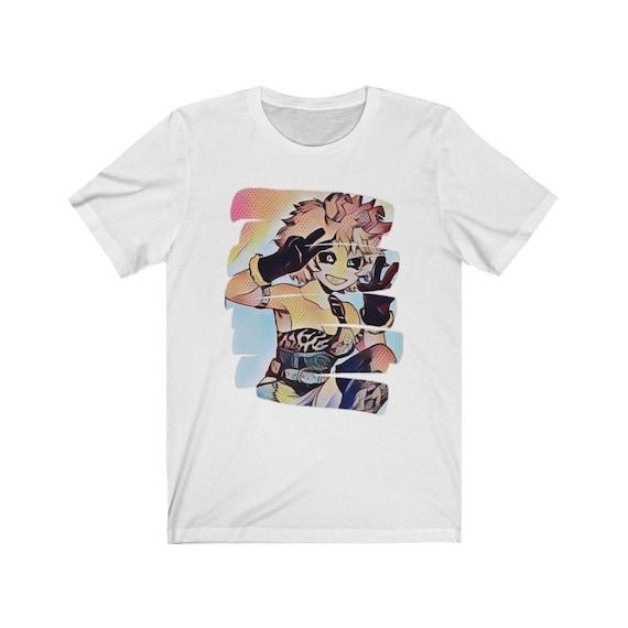 Mina Ashido Shirt Pinky My Hero Academia Shirt Boku No Hero Mha Bnha Art Shirt Anime Shirt Manga Kawaii Cute Aesthetic Unisex