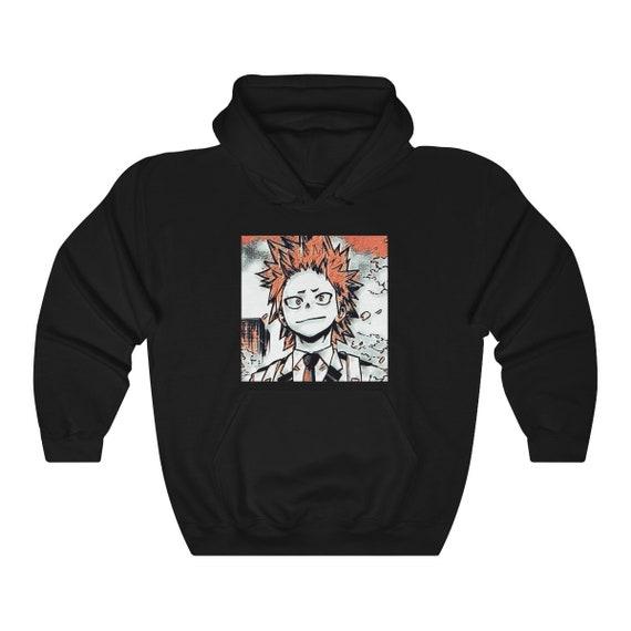 Eijiro Kirishima Hoodie Boku No Hero My Hero Academia Bakugou Bnha Mha Anime Hoodie Manga Hoodie Japanese Hoodie Unisex Sweatshirt