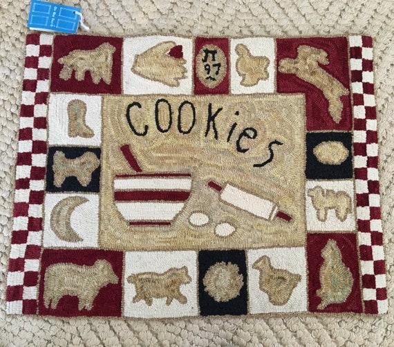 Hand Hooked rug Grandmas Kitchen Rug 28\