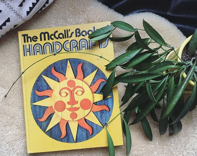 Vintage McCall's Book of Handcrafts / Bohemian Book of Crafts