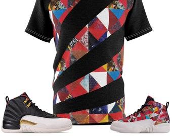 2869d09b33fdea Jordan 12 Chinese New Year T-shirt