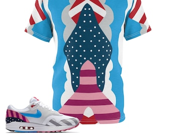 f73feaf78d Parra X Air Max 1 Sneakermatch T-Shirt By Gourmetkickz V1,Cut&Sew