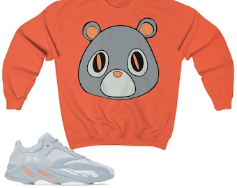 653f44443 Yeezy Boost 700 Inertia Sneaker Match Sweatshirt Yeezy Bear V1