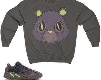 21d63087f Yeezy Boost 700 Mauve Crewneck Sweatshirt Bear
