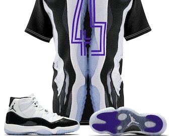 caefa4be69e278 Jordan 11 Retro Concord 2018 Sneaker Match T-Shirt