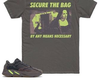 43d7139a Mauve Yeezy Boost 700 T-Shirt, Secure The Bag Shirt, Yeezy Boost 700 Shirt,  Mauve Yeezy, Graphic T-Shirt