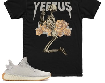 72ffca363dc Yeezy Boost 350 V2 Sesame Sneaker Match T-Shirt, Yeezus God Wants You  Inspired Graphic Shirt, TLOP, Yeezy Supply, Pablo Supply, Premium V2