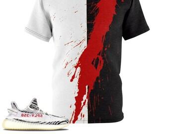 5d3a9725b39fe The Slash TShirt For The Yeezy Boost 350 V2 Zebra