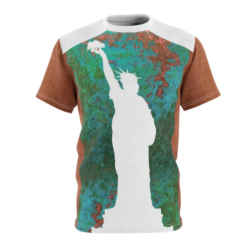 online store a8df1 33b6a Gourmet Liberty Ii Statue Of Liberty Af1 Shirt,Cut&Sew