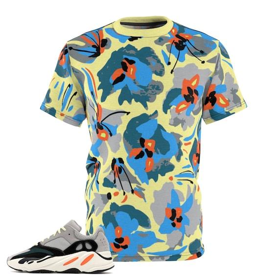 Yeezy 700 Teal Blue Medusa Hoodie to Match Yeezy 700 Teal Blue Sneakers