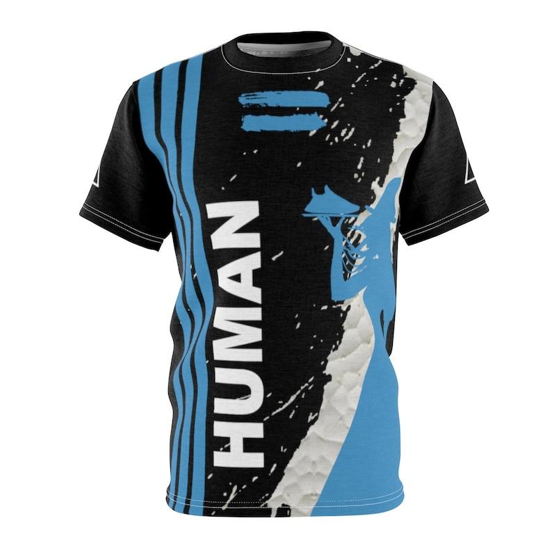 93203ff3dff2a Pharrell Human Race Adidas Nmd Sharp Blue Shirt By