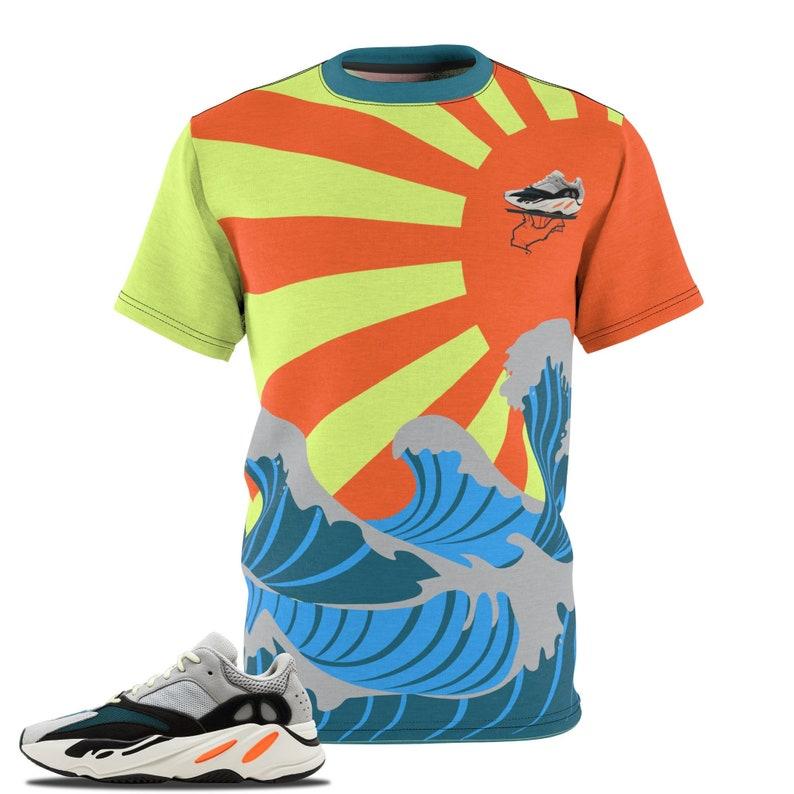 b2037ccc8 Yeezy 700 Sneaker Match T-Shirt Waverunner T-shirt Yeezy 700
