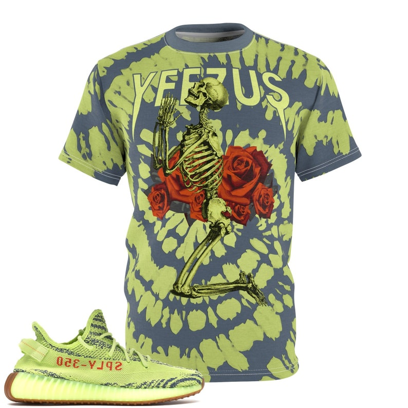 99ac53c14dd9e Yeezy Boost 350 V2 Semi Frozen Yellow T-Shirt Frozen Yellow