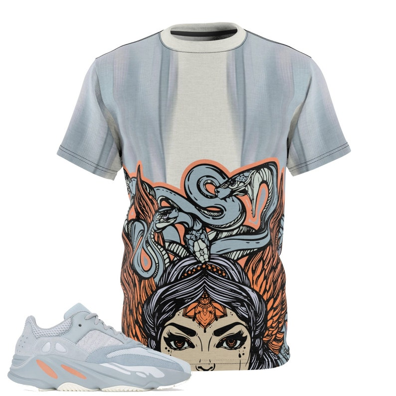 f90507a91 Yeezy Boost 700 Inertia All Over Print Sneaker Match T-Shirt