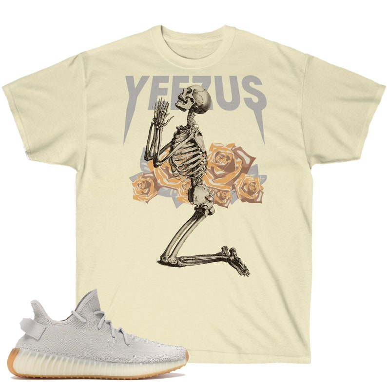 1d9358ed9ea09 Yeezy Boost 350 V2 Sesame Sneaker Match T-Shirt, Yeezus God Wants You  Inspired Gildan Shirt V2, TLOP, Yeezy Supply, Pablo Supply, Yeezy Tee