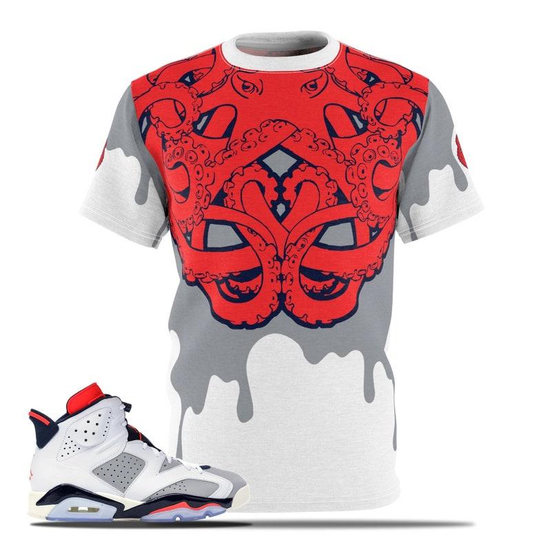 b9d1b419254 Jordan Sneakermatch Tee Sneaker Match Shirt Air Jordan 6 | Etsy