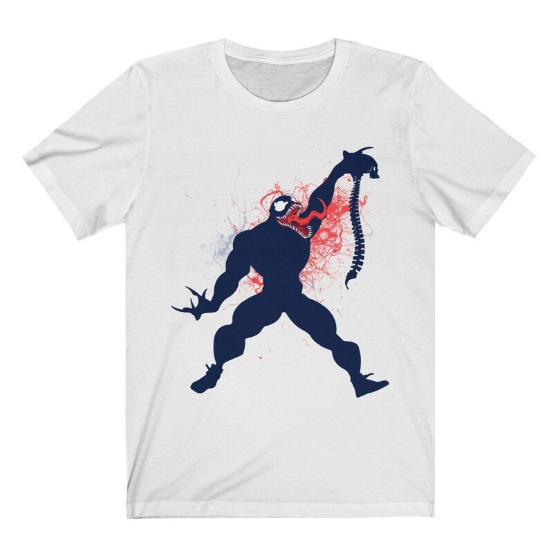 174f293fb0b68 Jordan Sneakermatch Tee, Sneaker Match Shirt, Jordan 6 Tinker Matching  T-Shirt, JumpVenom, Venom X Jumpman Graphic T-Shirt Bella+Canvas